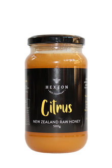 Hexton Citrus New Zealand Raw Honey Limited Edition - 284067