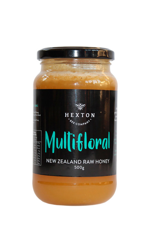 Hexton Multifloral New Zealand Raw Honey