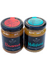 Hexton Multifloral and Rerarewa New Zealand Raw Honey Set of Two