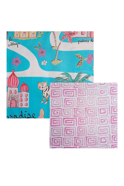 Hexton Beeswax Eastern Paradise Kids Food Wrap 2 Pack