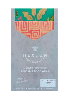 Hexton Beeswax Eastern Paradise Kids Food Wrap 2 Pack - 284074
