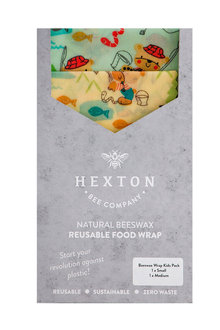 Hexton Beeswax Gone Fishing Kids Food Wrap 2 Pack - 284075