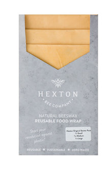 Hexton Beeswax Original Food Wrap Starter Pack - 284076