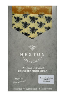 Hexton Beeswax Medium Assorted Food Wraps 2 Pack - 284078