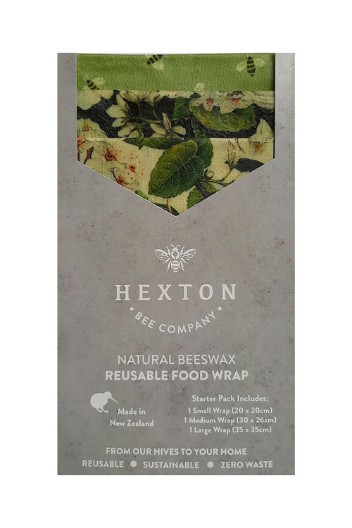 Hexton Beeswax Le Bouquet Food Wrap Starter Pack