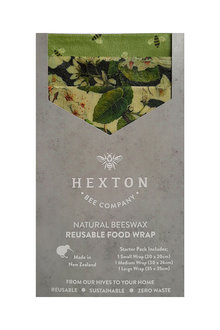 Hexton Beeswax Le Bouquet Food Wrap Starter Pack - 284084
