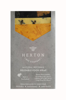Hexton Beeswax Queen Bee Food Wrap Starter Pack - 284085