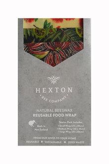 Hexton Beeswax Kiwiana Koru Food Wrap Starter Pack - 284086