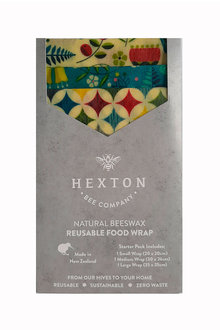 Hexton Beeswax Kiwiana Fantail Food Wrap Starter Pack - 284087