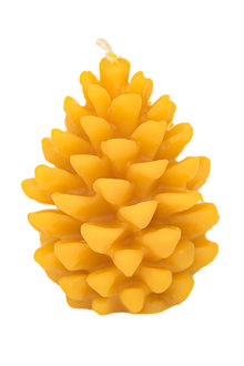 Hexton 100% Beeswax Pine Cone Candle - 284113
