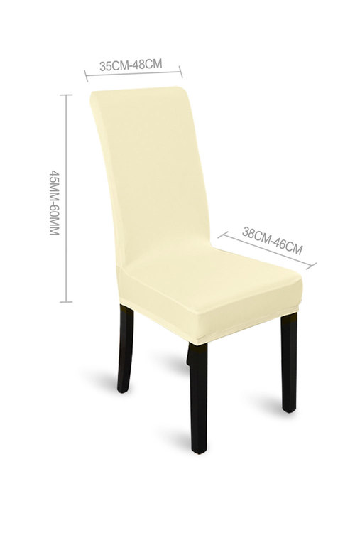 Marlow Elastic Washable Dinning Chair Cover Pack of 4