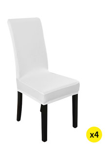 Marlow Elastic Washable Dinning Chair Cover Pack of 4 - 284120