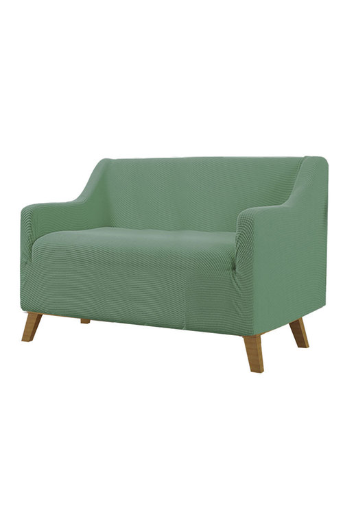 Marlow 2 Seater Sofa Polyester Stretch Slipcover Pack of 2
