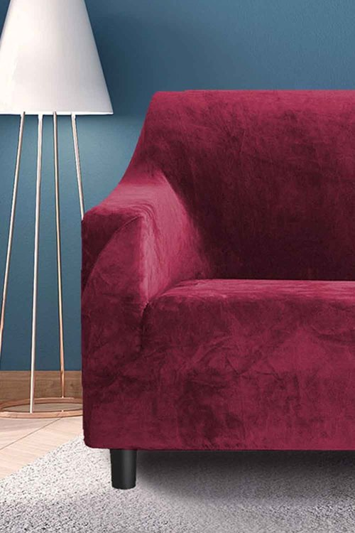 Marlow 1 Seater Plush Stretch Sofa Cover