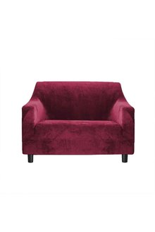 Marlow 1 Seater Plush Stretch Sofa Cover - 284135