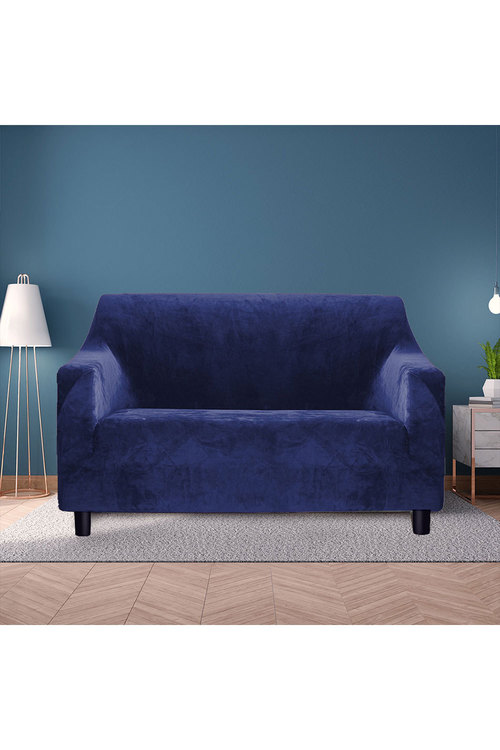Marlow 2 Seater Plush Stretch Sofa Cover