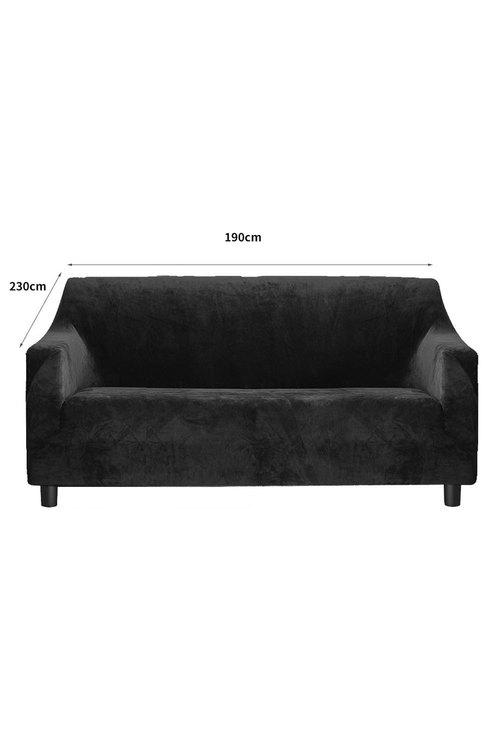 Marlow 3 Seater Plush Stretch Sofa Cover