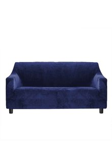 Marlow 3 Seater Plush Stretch Sofa Cover - 284137