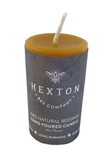 Hexton 100% Beeswax Solid Pillar Candle - 284156