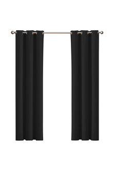 Marlow 2-Panel Eyelet Blockout Curtains - 284163