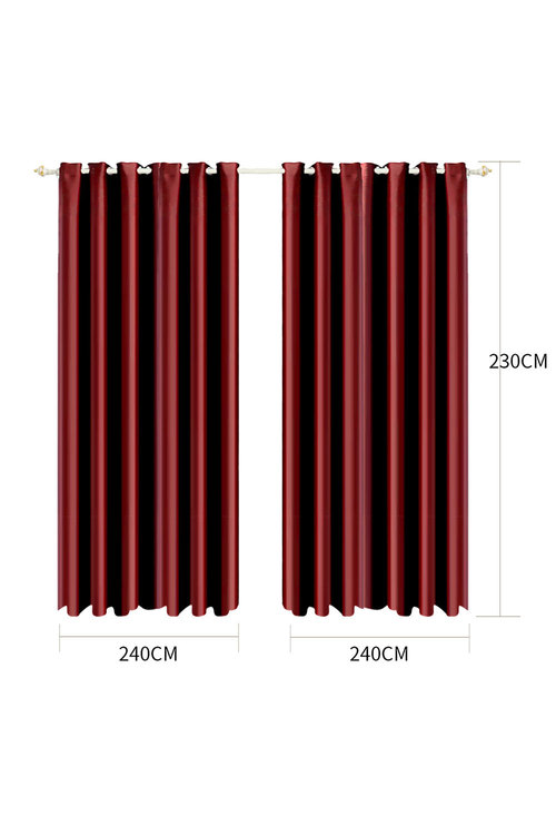 Marlow Blockout Eyelet Curtains 3 Layers