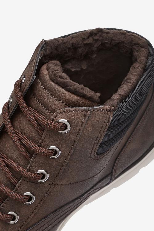 Next Borg Lined Nylon Sport Boots