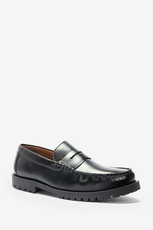 Next Cleated Sole Loafers