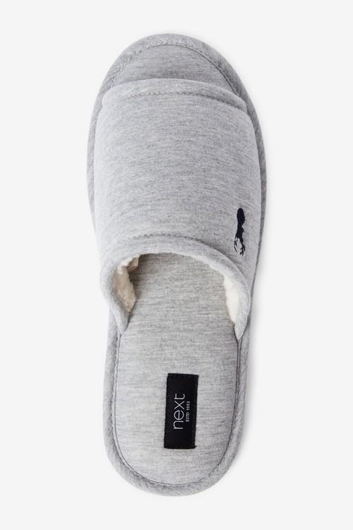 Next Stag Slider Slippers