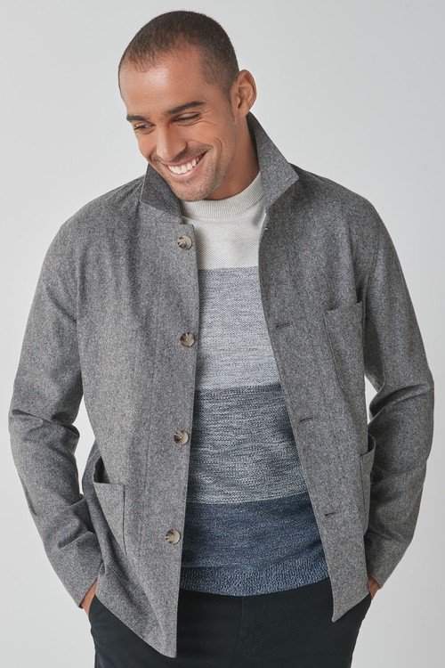 Next Herringbone Worker Jacket