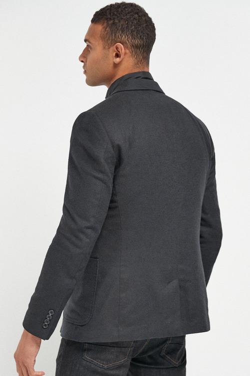 Next Italian Fabric Removable Gilet Blazer
