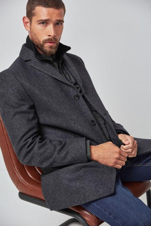 Next Zip Epsom Coat