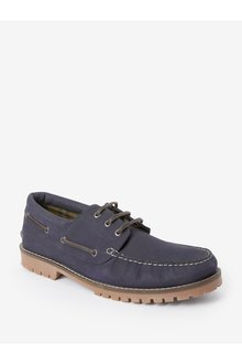 Next Waxy Boat Shoes - 284654
