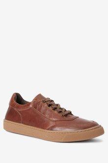 Next Leather Gum Sole Shoes - 284656