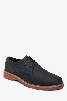 Next Nubuck Leather Derby Shoes - 284669