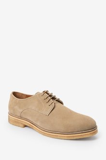 Next Modern Heritage Crepe Sole Suede Derby Shoes - 284673