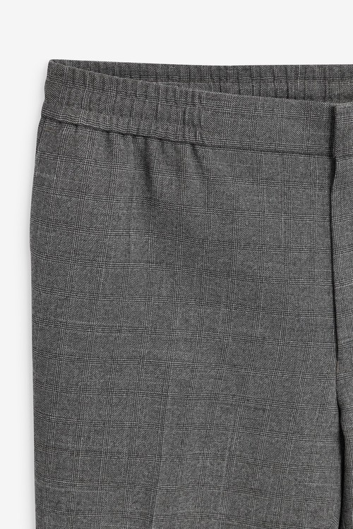 Next Check Formal Trousers-Slim Tapered