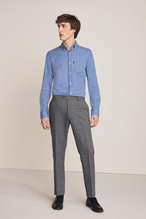 Next Check Formal Trousers-Slim Fit