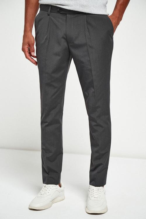 Next Suit: Trousers-Fashion Pleat Fit