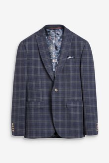 Next Check Suit: Jacket - 284736
