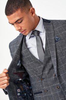 Next Check Suit: Jacket - 284741