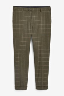 Next Skinny Fit Check Suit: Trousers - 284762