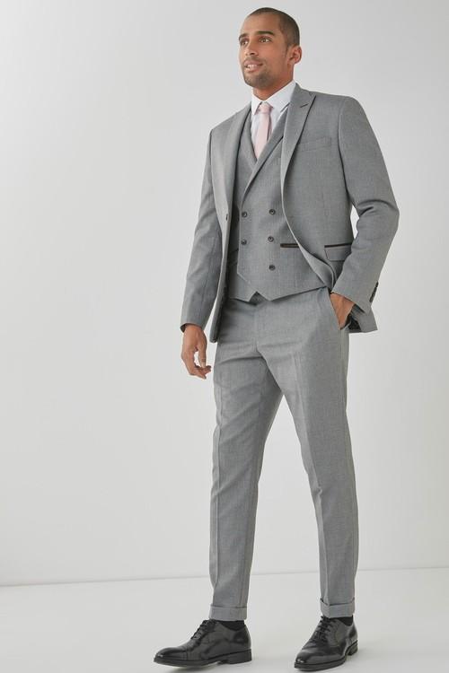 Next Herringbone Suit: Jacket