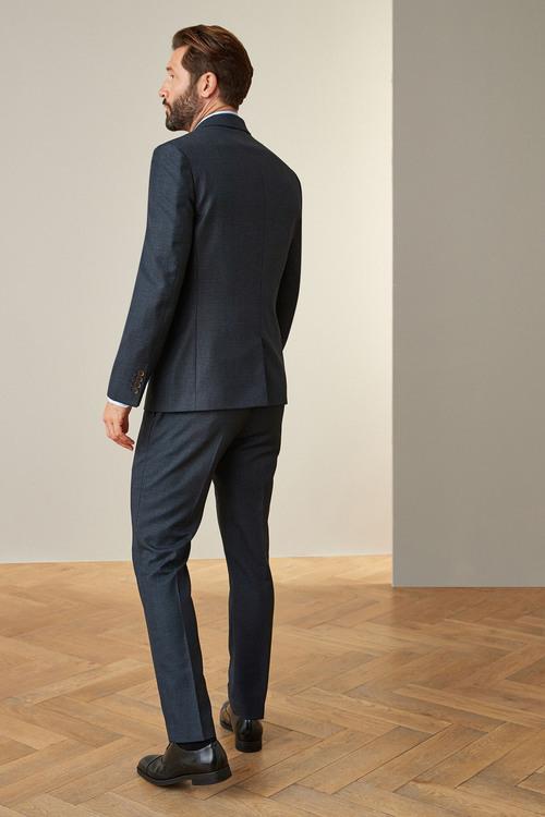Next Signature Puppytooth Slim Fit Suit-Jacket