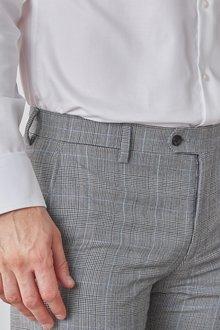 Next Slim Fit Signature Check Suit: Trousers - 284848