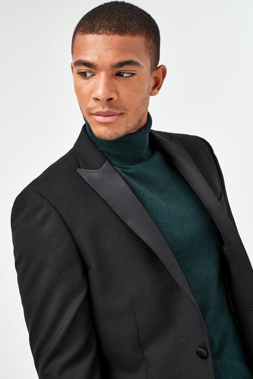 Next Joules Slim Fit Tuxedo Suit: Jacket