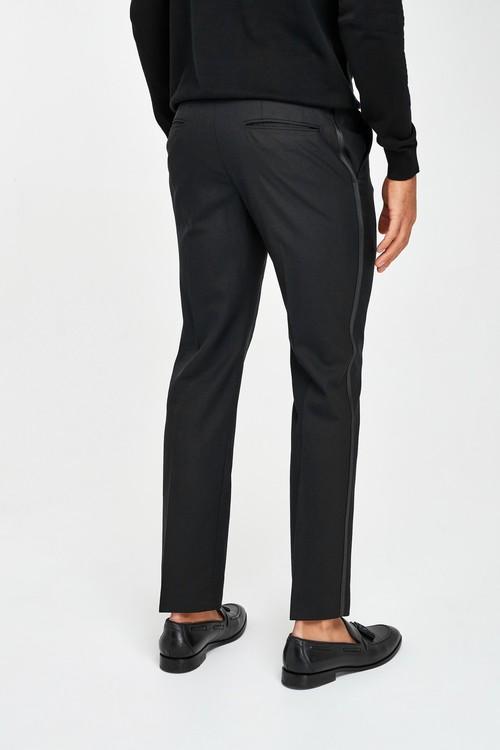 Next Joules Slim Fit Tuxedo Suit: Trousers