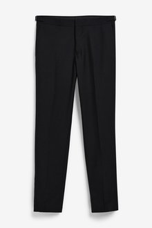 Next Joules Slim Fit Tuxedo Suit: Trousers - 284876