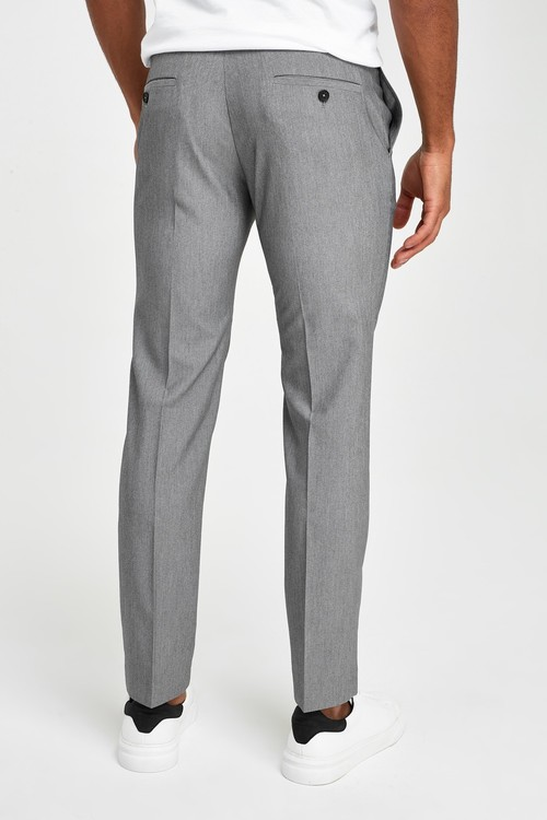 Next Stretch Formal Trousers-Skinny Fit
