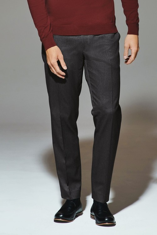 Next Check Regular Fit Trousers