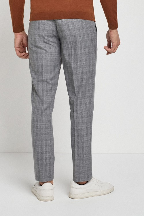 Next Textured Tapered Slim Fit Trousers